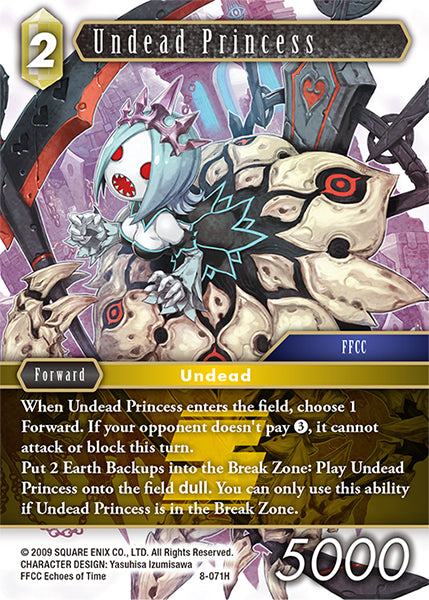8-065 H Undead Princess
