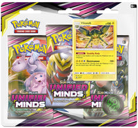 Pokémon TCG: Sun & Moon - Unified Minds 3-Blister Set (Vikavolt)