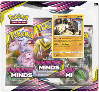 Pokémon TCG: Sun & Moon - Unified Minds 3-Blister Set (Stakataka)