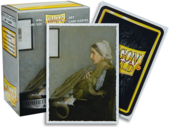 Dragon Shield - 'Whistler's Mother' Classic Art Card Sleeves
