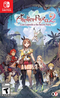 NS Atelier Ryza 2: Lost Legends & The Secret Fairy