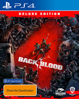 PS4 Back 4 Blood (Deluxe Edition)