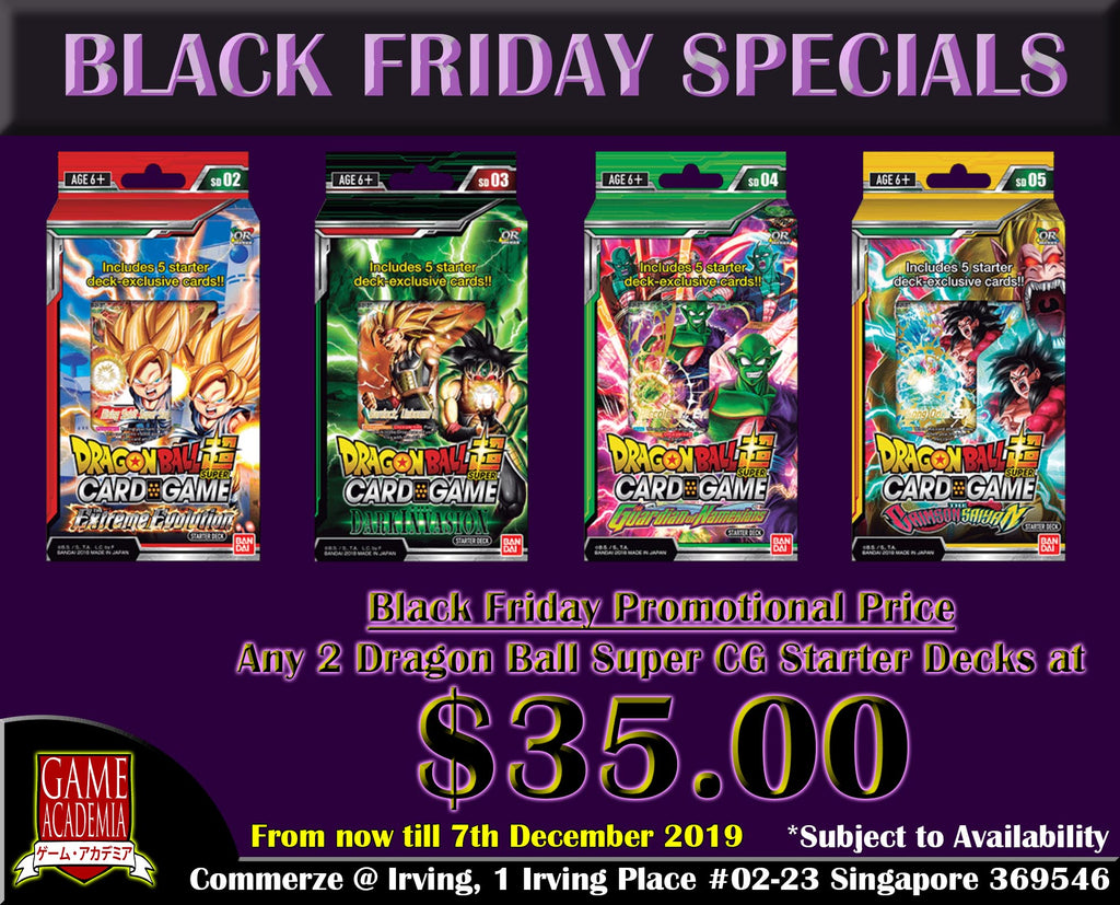 Dragon Ball Super Card Game Starter Bundle