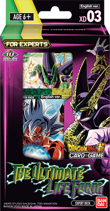 Dragon Ball Super Card Game - [DBS-XD03] The Ultimate Life Form Expert Deck