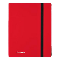 Eclipse 9-Pocket Apple Red PRO Binder