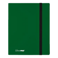 Eclipse 9-Pocket Forest Green PRO Binder