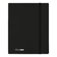 Eclipse 9-Pocket Jet Black PRO Binder