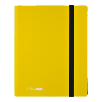 Eclipse 9-Pocket Lemon Yellow PRO Binder