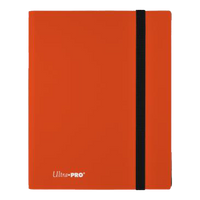 Eclipse 9-Pocket Pumpkin Orange PRO Binder