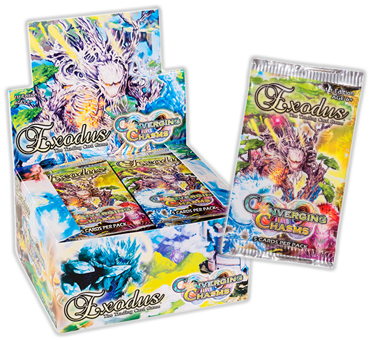 Exodus TCG - [SET 04] Converging Chasms Booster Box