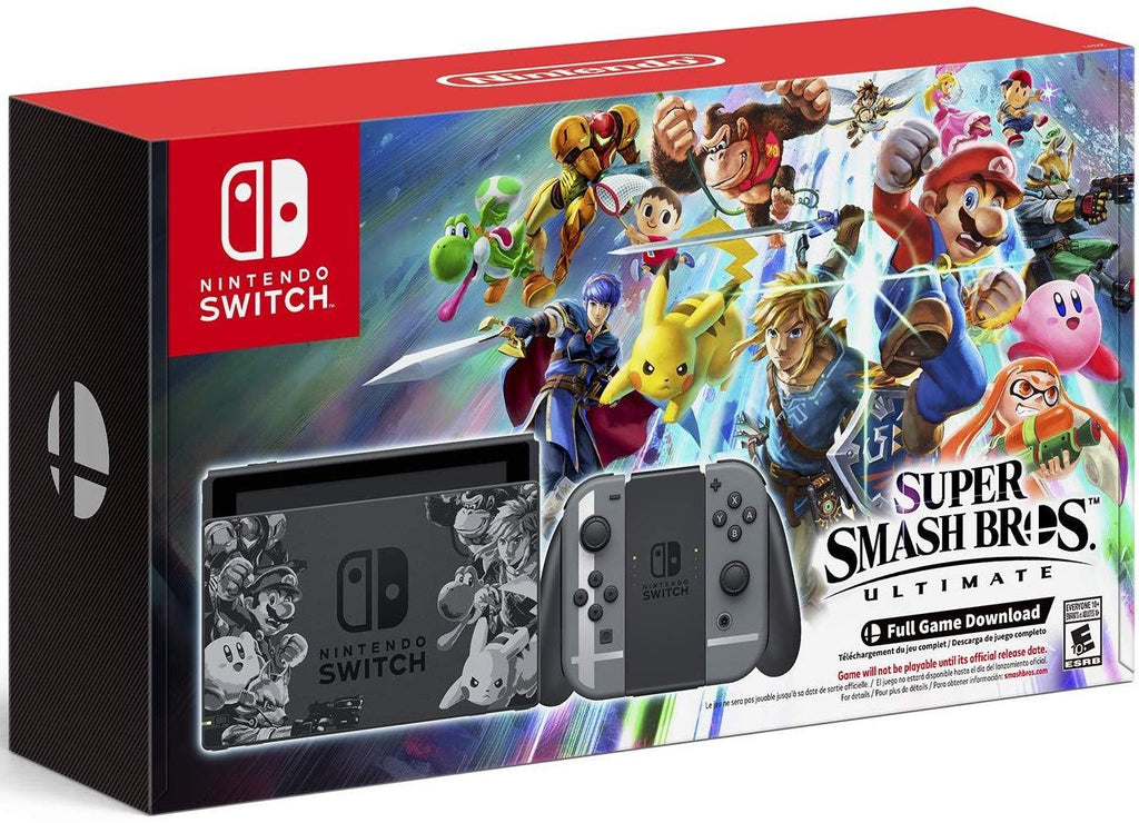 Nintendo Switch Console Set Limited Edition - Super Smash Bros. Ultimate