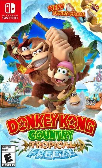 NS Donkey Kong: Country Tropical Freeze