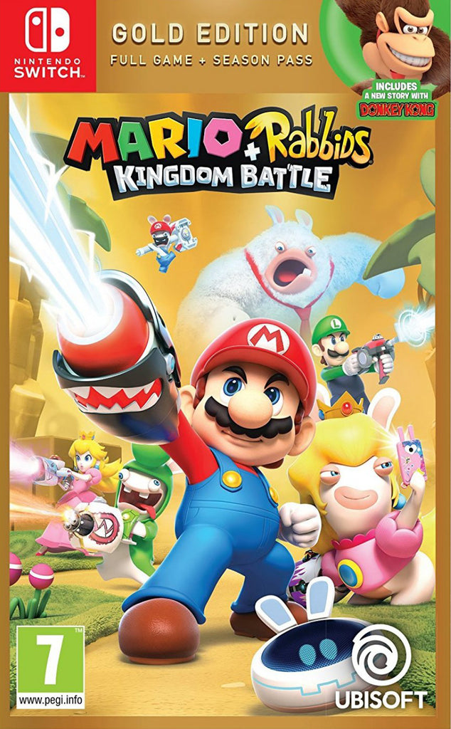 NS Mario + Rabbids Kingdom Battle (Gold Edition)