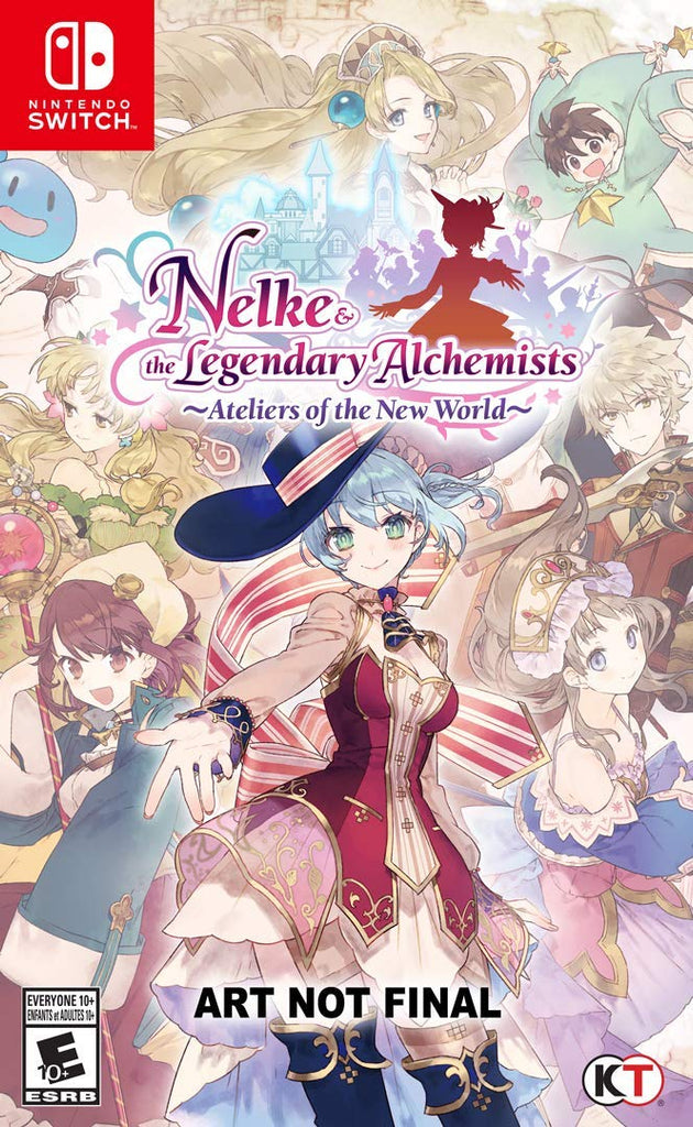 NS Nelke & The Legendary Alchemists: Ateliers of The New World