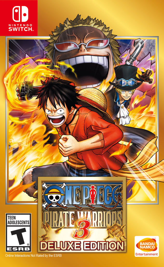 NS One Piece: Pirate Warriors 3 Deluxe Edition