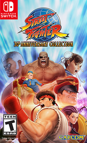 NS Street Fighter: 30th Anniversary Collection