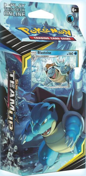 Pokémon TCG: Sun & Moon - Team Up Blastoise Theme Deck