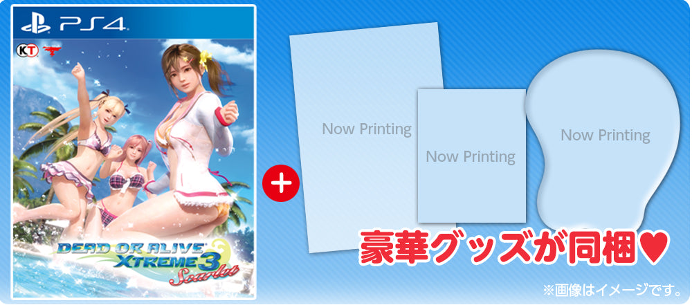 Hasil gambar untuk DEAD OR ALIVE XTREME 3: SCARLET (COLLECTOR'S EDITION)
