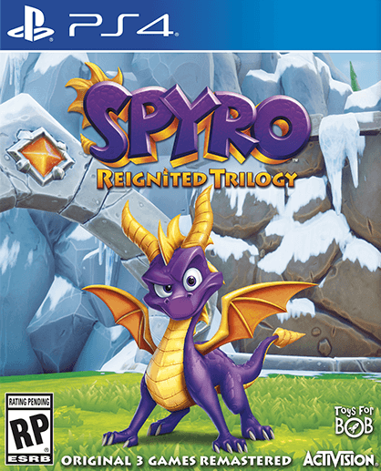 PS4 Spyro: Reignited Trilogy