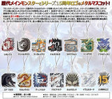 Monster Hunter 15th Anniversary - Main Monsters Icon Stained Trading Mascot Collection