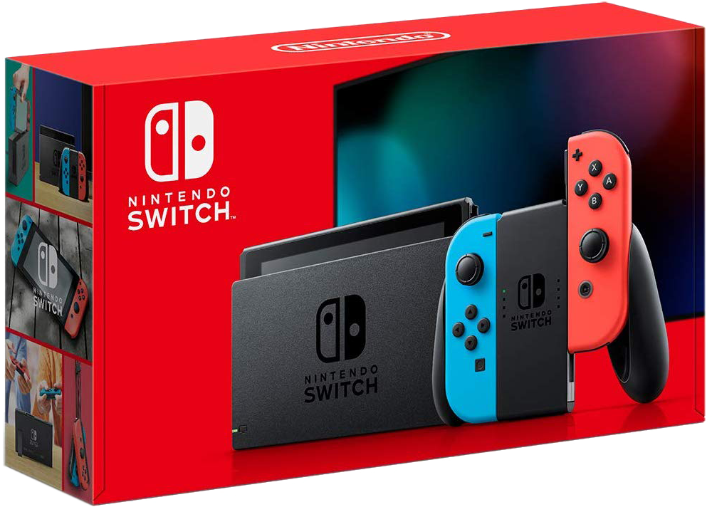 Nintendo Switch Console Set - Neon Red & Blue