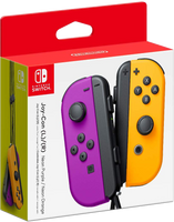 Nintendo Switch Joy-Cons - Neon Purple & Orange
