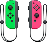 Nintendo Switch Joy-Cons - Neon Green & Pink