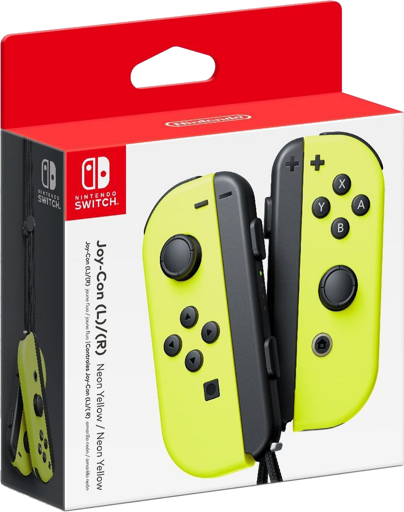 Nintendo Switch Joy-Cons - Neon Yellow