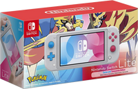 Nintendo Switch Lite Console Set Limited Edition - Zacian & Zamazetta