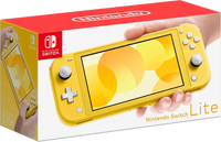 Nintendo Switch Lite Console Set - Yellow