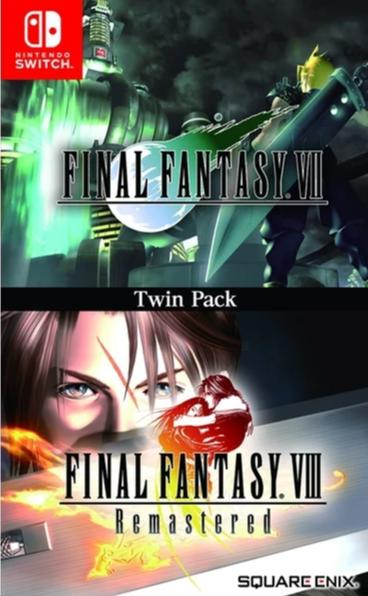 NS Final Fantasy VII & Final Fantasy VIII Remastered Twin Pack