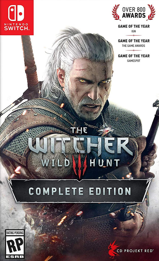 NS The Witcher 3: Wild Hunt Complete Edition
