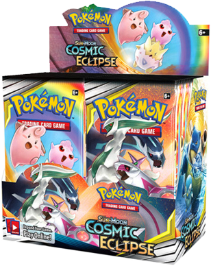 Pokémon TCG: Sun & Moon - Cosmic Eclipse Booster Box