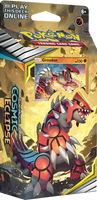 Pokémon TCG: Sun & Moon - Cosmic Eclipse Groudon Theme Deck
