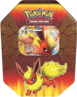Pokémon TCG: Elemental Powers - Flareon-GX Tin