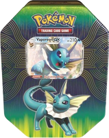 Pokémon TCG: Elemental Powers - Vaporeon-GX Tin