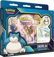 Pokémon TCG: Snorlax Pin Collection Set