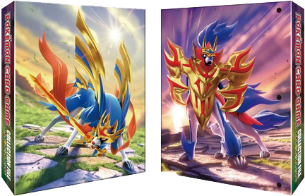 Pokemon TCG - Zacian & Zamazenta 9-Pocket Binder
