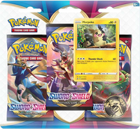 Pokémon TCG: Sword & Shield 3-Blister Set (Morpeko)
