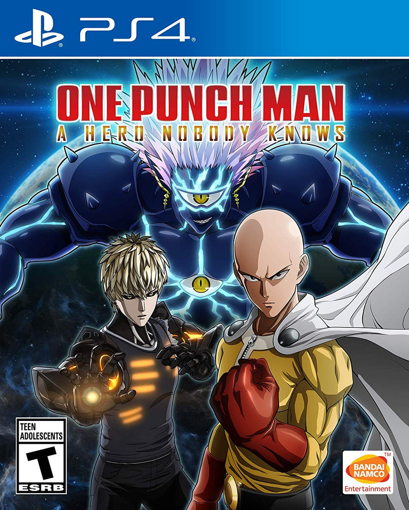 PS4 One Punch Man: A Hero Nobody Knows
