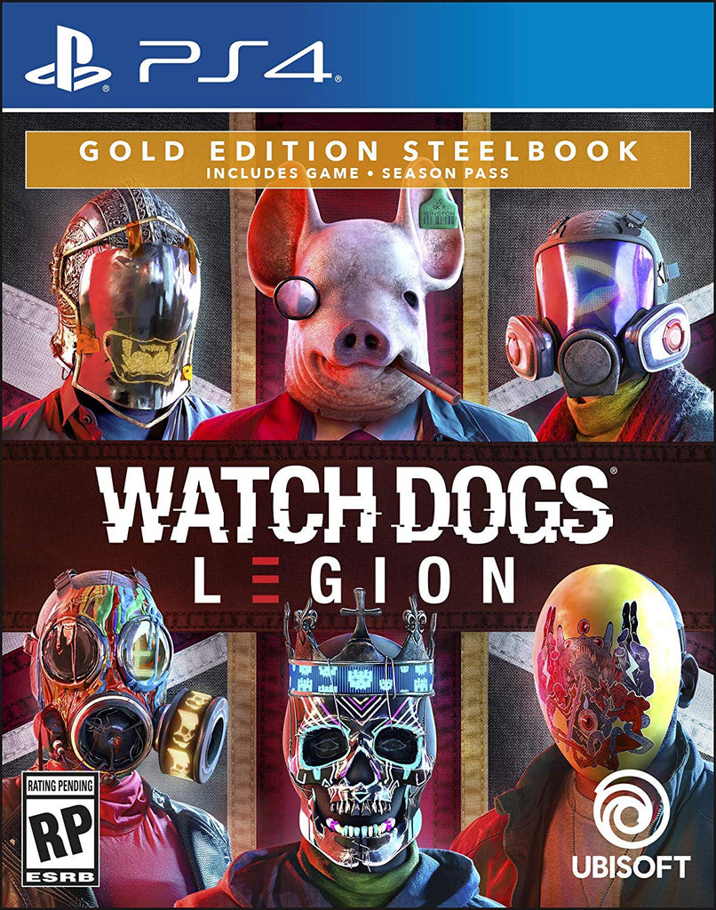 PS4 Watch Dogs: Legion (Gold Edition)
