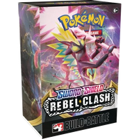 Pokemon TCG - Sword & Shield: Rebel Clash Build & Battle Box