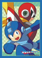 Rockman - Rockman & Blues (Megaman & Protoman) Card Sleeves