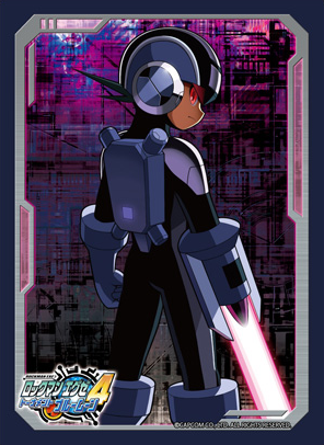 Rockman.EXE 4: Blue Moon - Dark Rockman.EXE Card Sleeves