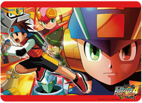 Rockman.EXE 4: Red Sun Rubber Play Mat