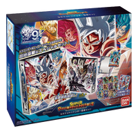 Super Dragon Ball Heroes - Official 9th Anniversary 9-Pocket Binder Set