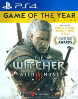 PS4 The Witcher III: Wild Hunt [GOTY Edition]