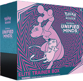 Pokémon TCG: Sun & Moon - Unified Minds Elite Trainer Box