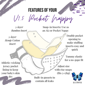 [PREORDER] V1.5 | Pocket Nappy - A Sticky Situation