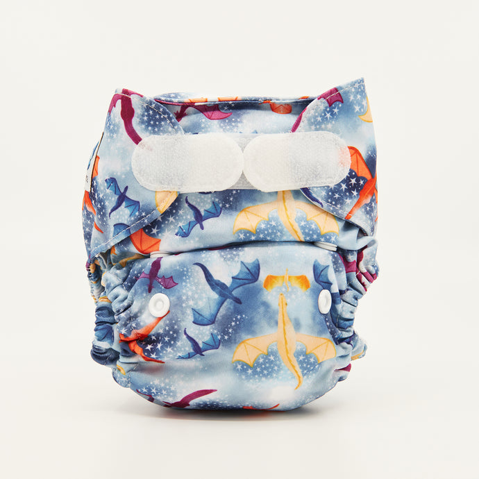 Fire & Ice | Newborn Cloth Nappy